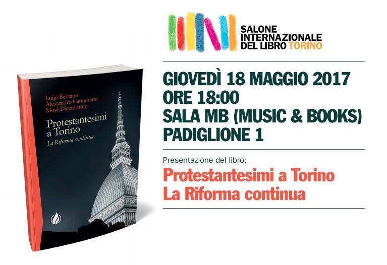 Locandina protestantesimi a Torino